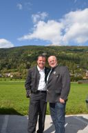 FWS-Chef Pewny mit Bezirksobmann Lassacher